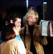 "Executive producer Susan Zirinsky, left, director Rob Klug and anchor Lesley Stahl of CBS&squot; ""48 Hours Investigates"" review footage in a CBS News control room. The newsmagazine, formerly named ""48 Hours,"" was retitled and retooled for its 16th season this year with a mandate to go heavy on crime whodunits."