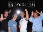 Anything But Joey is (L to R) Drew Scofield [bass, vocals], Matt Groebe [vocals], Bryan Chesen [guitar, vocals] and Jeff Polaschek [drums]