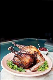 Deep frying is becoming a popular method to prepare turkeys for Thanksgiving dinner.