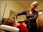Marta Kwiatkowska, a massage therapist at Renu Day Spa in