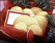Butter Cardamom Cookies are easy to make and a welcome item to hand around at home or bake for a gift offering. Sherry Yard, executive pastry chef of Spago in Los Angeles, created the recipe with its subtle use of spice.