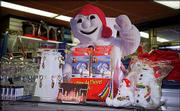 Bonhomme, the King of the Carnaval de Quebec, is featured on souvenirs. The family-oriented festival promotes a mix of history, tradition, folklore and novelty.