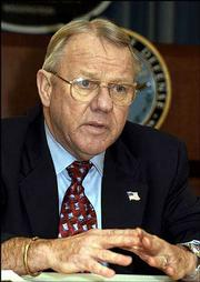 Retired Lt. Gen. Jay Garner will be the Director of the Office of Reconstruction and Humanitarian Assistance for Post-war Iraq.