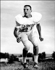 Drue Jennings was a defensive back at Kansas University from 1963 to 1967. He said the highlight of his KU career was defeating Missouri, 17-6, at home in the final game of his senior season.