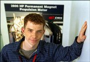 Andrew Keefe, a soon-to-be graduate from Worcester Polytechnic Institute, is one of this year's lucky college graduates. He has just been hired as an electronics systems engineer at DRS Electronic Power Technologies in Hudson, Mass. Many graduates-to-be still are searching for employment.