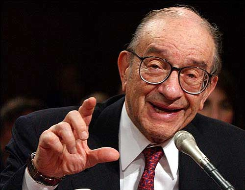 the life and contributions of the american economist alan greenspan Alan greenspan will go down in history as the person most responsible for the enormous economic damage caused intelligent life alan greenspan would.