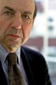 "Calvin Trillin, author of ""Feeding a Yen,"" published by Random House."