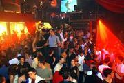 Youths dance in La Locomotive nightclub in Paris.