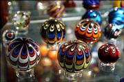 Drew Fritts of Springfield, Mo., has had no trouble selling his handmade marbles to collectors around the country.