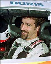 Nascar driver Boris Said gets ready for practice in this file photo. Said is one of several specialists recruited to drive in the two road races on the Winston Cup schedule each season. There will be a handful trying to qualify for Sunday's Dodge/Save Mart 350 at Infineon Raceway in Sonoma, Calif.