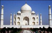 The Taj Mahal in Agra is India's greatest architectural marvel. Construction of a tourist complex nearby has been halted for fear of damaging the 17th century monument.