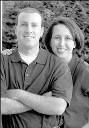 Dave Holtzman and Kerri Shafer