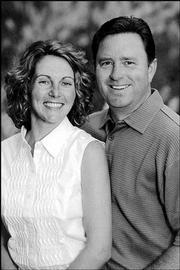 Christine Rinella and Mark Douglas