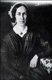 Women's suffrage activist Clarina Nichols is shown in this undated photograph. Nichols campaigned for women's rights during the mid-1800s on the East Coast and then in Kansas Territory. Lawrence resident Christine Reinhard will portray Nichols during Civil War on the Western Frontier, which begins Monday and runs through Aug. 24.