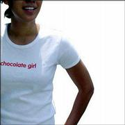 Sweets-themed fashion, such as this shirt from New York's Chocolate Bar, are popular. Fashion experts say the products allow their owners to indulge in good taste without bulking up on fat and calories.