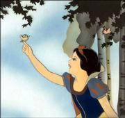 "A color transparency from Walt Disney&squot;s ""Snow White"" is part of a collection of some 36,000 cartoons recently donated to the Library of Congress."