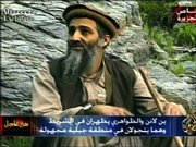 Al-Qaida leader Osama bin Laden is seen in this image made from television aired by the Arabic satellite channel Al-Jazeera. The footage was made in late April or early May, the broadcaster said.