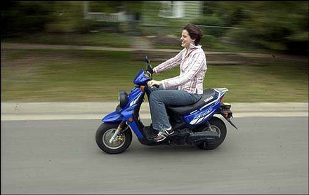 2005 Yamaha Zuma 50cc Sport Scooter.