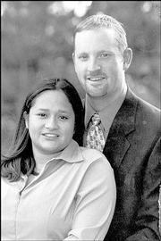 Olivia Montes and Clay Mayer