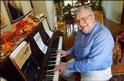 Jim Ralston, retired director of choral activities at Kansas University, won a Phoenix Award for Musical Arts.
