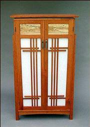 Wooden cabinet by Rick Stein