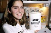 Kalli McClure, a Southwest Junior High eighth-grader, won the Edy&#39;s