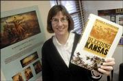 "Nicole Etcheson will discuss her new book, ""Bleeding Kansas,"" at 2 p.m. today in Lecompton."