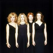 "From left, Kim Cattrall, Sarah Jessica Parker, Cynthia Nixon and Kristin Davis star In HBO&squot;s ""Sex and the City."""