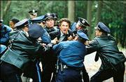 "Sean Penn, center, should win Best Actor for his role in the harrowing drama, ""Mystic River."""