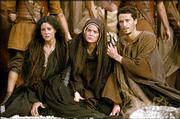 "Monica Bellucci, Maia Morgenstern and Hristo Jivkov portray family and friends of Jesus who look on as he is crucified in ""The Passion of the Christ."""