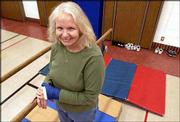 Pat Grzenda, an adaptive physical educator in the Lawrence school district, has been named one of seven master teachers of Kansas by Emporia State University. Grzenda works at various schools each day, helping students with physical disabilities participate in physical education classes.