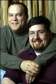 Mike Silverman, left, and David Greenbaum