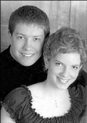 Adam Beilgard and Aimee Thiessen
