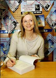 "Cecelia Ahern, daughter of Irish Prime Minister Bertie Ahern, is seen at a signing for her first book, ""PS, I Love You."" She signed copies at Eason&squot;s Bookshop in Dublin, Ireland."