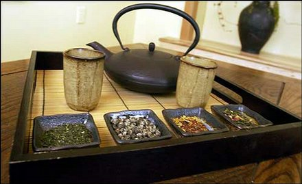 Whole leaf Japanese Green Tea and Herbal Teas are available at the Kura Door Holistic Japanese Spa in Salt Lake City. & Photos for March 28 2004 / LJWorld.com