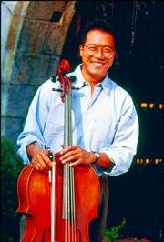 Renowned cellist Yo-Yo Ma brought his Silk Road Ensemble Saturday to the Lied Center.