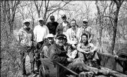 The Wakarusa Group of Sierra Club poses for a picture during a clean-up project at the Haskell-Baker Wetlands. Pictured are, back row from left, Jerry Sipe, Michael Caron, Erwin Campbell, Mike Campbell, Byron Wiley and Roger Boyd; front row from left, Lisa Grossman, Jim Hasselle, Kelly Barth and Pam Lovett. Boyd, chairman of the department of biology at Baker University, directed the service project, which involved clearing brush and limbs from the boardwalk and the north levee trail. Others who helped with the April 1 project were Susan Iverson, Larry Maxey, Carey Maynard-Moody, Dana Carlton, Jesse Carlton, Daniel Poule and Richard Heckler.