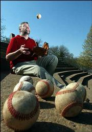 Lawrence resident Bill James, a nationally renowned baseball expert and senior baseball operations adviser to the Boston Red Sox, has kept his fame in a Midwest perspective. He feels comfortable living and working in Lawrence, where he can be both a famous writer and a normal family man.