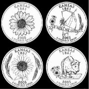 "High school students in Kansas are choosing this week from among these four designs for the new state quarter. <a href= ""http://www2.ljworld.com/polls/2004/apr/quarter/""><b>You can vote for your favorite in our online poll</b>.</a>"