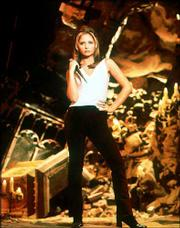 "Sarah Michelle Gellar plays Buffy Summers in the ""Buffy the Vampire Slayer"" TV series. Scholars from around the world are meeting this weekend in Nashville to discuss various theories and interpretations of the show."
