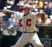 After the game Sunday in Kansas City, Mo., Kansas City starter Zack Greinke said he idolized Mets starter Tom Glavine.