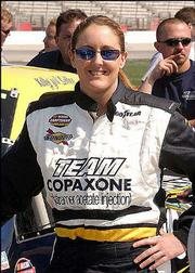 In her first year racing in the NASCAR Truck Series, Kelly Sutton is 31st in the points standings.