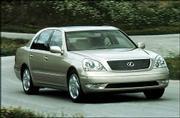 Toyota Motor Corp.'s 2001 Lexus LS 430