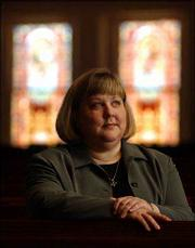 THE REV. GAYLA RAPP is the United Methodist campus minister to Kansas University. Rapp's office is at First United Methodist Church, 946 Vt.