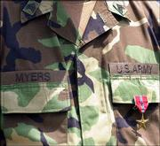 The Bronze Star is the fourth-highest medal awarded for valor.