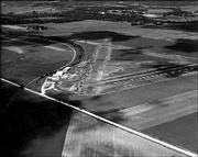 Lawrence Municipal Airport in 1947