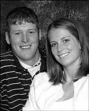 Nathan Cook and Amanda Coppoc.