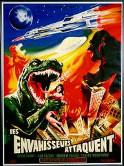 "French poster for ""Destroy All Monsters"" (1969)"