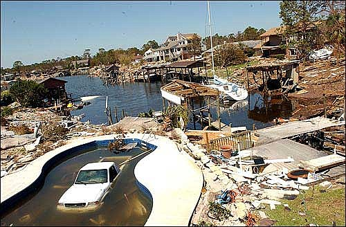 Photo Hurricane Ivan Did Considerable Damage In Pensacola Fla The Ljworld Com