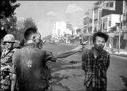 South Vietnamese National Police Chief Brig Gen. Nguyen Ngoc Loan executes a Viet Cong officer with a single pistol shot in the head on Feb. 1, 1968, in Saigon, Vietnam. The photo, by photojournalist Eddie Adams, became one of the Vietnam's War's most indelible images. Adams died Sunday at his Manhattan, N.Y., home.